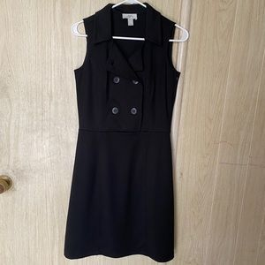 ANN TAYLOR LOFT Double Breasted Dress Size 2